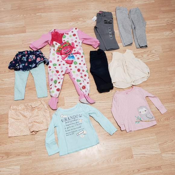 Girls size 18 months bundle of 10 items